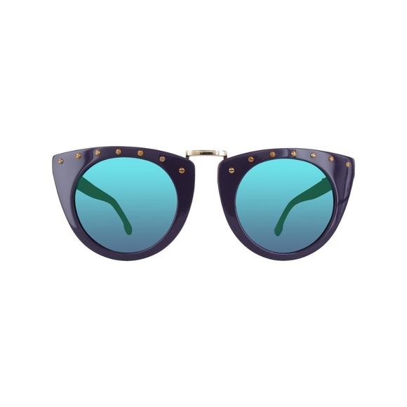 New Diesel Purple Sunglasses